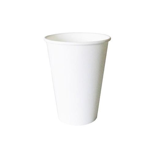 Pappbecher 0,18l weiß ohne Eichstrich (PACK=100 STÜCK) Produktbild