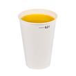 Pappbecher 0,5l weiß mit Eichstrich (PACK=50 STÜCK) Produktbild