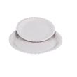 Pappteller rund Ø23cm / weiß / beschichtet (PACK=100 STÜCK) Produktbild Additional View 1 S