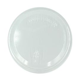 PLA Deckel Feinkostbecher / Logisch öko Ø98mm / transparent (KTN=1000 STÜCK) Produktbild