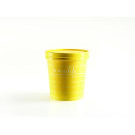 Soup to go Container PE-beschichtet mit Hartpapierdeckel mmmhh 450ml gelb (KTN=250 STÜCK) Produktbild