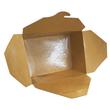 Hartpapier-Box Leo braun 700ml 130x105x65mm Gr. 1 PE-Beschichtung (KTN=450 STÜCK) Produktbild Additional View 2 S