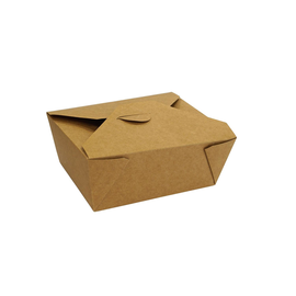 Hartpapier-Box Leo braun mit PE- Beschichtung Größe 8 165x131x64mm 1250ml (KTN=450 STÜCK) Produktbild