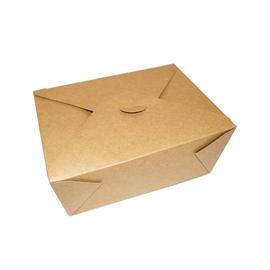 Hartpapier-Box Leo braun mit PE- Beschichtung Größe 4 215x160x90mm 2700ml (KTN=160 STÜCK) Produktbild