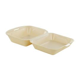 Lunch-Box ungeteilt / 155x185x75mm / champagner / 2066 (PACK=125 STÜCK) Produktbild