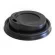 Deckel Coffee To Go Becher 0,3l / 0,4l schwarz 90mm (PACK=100 STÜCK) Produktbild