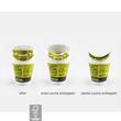 One Cup Single Wall M 0,3l Neutralmotiv grün (PACK=40 STÜCK) Produktbild Additional View 1 S