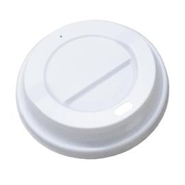 CPLA Deckel / Coffee to go Becher / 0,3l weiß / 90mm (KTN=1000 STÜCK) Produktbild