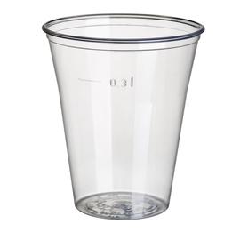 PS Ausschankbecher 0,3l / Ø95mm / glasklar (PACK=75 STÜCK) Produktbild