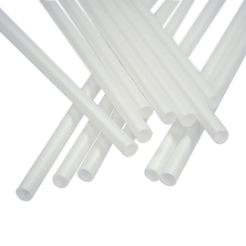 Trinkhalme PLA / Ø8mm / 250mm / weiß (PACK=250 STÜCK) Produktbild