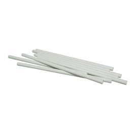 Trinkhalme Papier / Ø8mm / 230mm / weiß (PACK=150 STÜCK) Produktbild