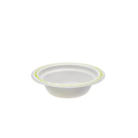 Dessertschale Chinet Ø14cm 200ml Motiv good to go weiß (PACK=100 STÜCK) Produktbild