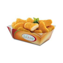 Snack Schale Fresh & Tasty 124/100x87/63x42mm (PACK=500 STÜCK) Produktbild