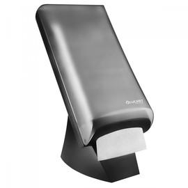 Serviettenspender L-One Tabeltop für 600 Servietten / schwarz /  Kunststoff / Lucart Produktbild