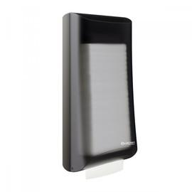 Serviettenspender L-One Counter für 525 Servietten / schwarz /  Kunststoff / Lucart Produktbild