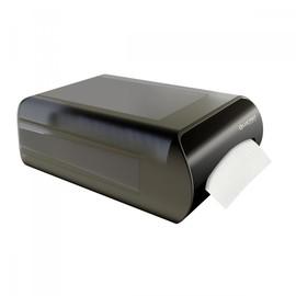 Serviettenspender L-One Counter für 350 Servietten / schwarz / Kunststoff / Lucart Produktbild