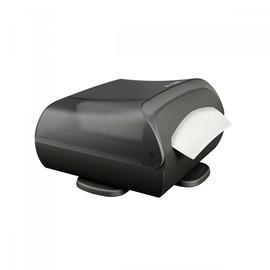 Serviettenspender L-One Tableturn drehbar für 180 Servietten / schwarz / Kunststoff / Lucart Produktbild