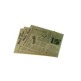 """Einschlagpapier """"Newsprint"""" 27x35cm / 35g / braun / fettdicht / Pergamentersatz (KTN=1000 STÜCK) Produktbild"""