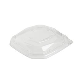 rPET Deckel für Octabagasse Schale 650ml 188141 / quadratisch / 191x191x35mm / transparent / Duni 192515 (PACK=50 STÜCK) Produktbild