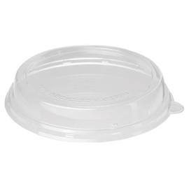 rPET Deckel für Bagasse Salatschalen ecoecho rund 800-1200ml Ø212mm / hoch / transparent / Duni 188061 (PACK=40 STÜCK) Produktbild