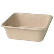 Bagasse Boxen ecoecho quadratisch 155x155x53mm / 900ml / nature / Duni 177006 (PACK=40 STÜCK) Produktbild