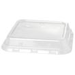 rPET Deckel für Bagasse Boxen ecoecho quadratisch 900ml 156x156x44mm / transparent / Duni 188062 (PACK=40 STÜCK) Produktbild