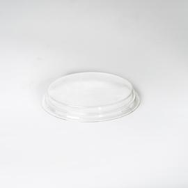 rPET Deckel flach / Logisch öko Ø150mm / 20mm / transparent (KTN=390 STÜCK) Produktbild