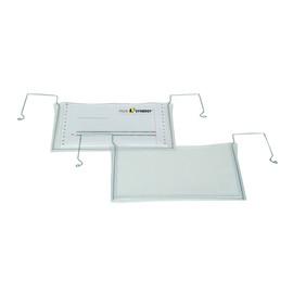 Drahtbügeltasche DIN A5 Querformat Draht nach außen gewinkelt Produktbild