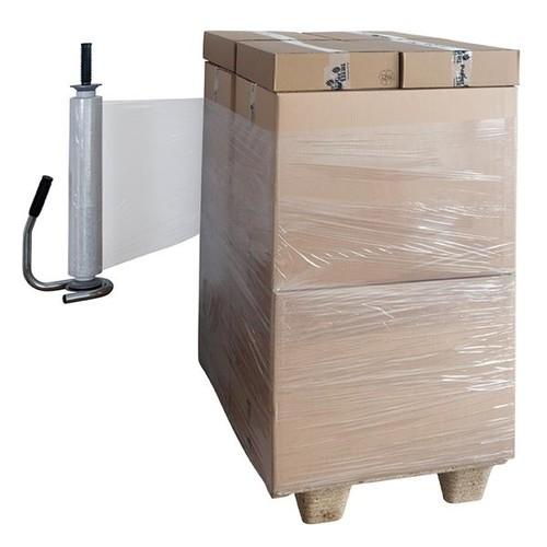 LDPE Handstretchfolie transparent 50cm x 280m / 17µ / LC3 (RLL=280 METER) Produktbild Additional View 1 L