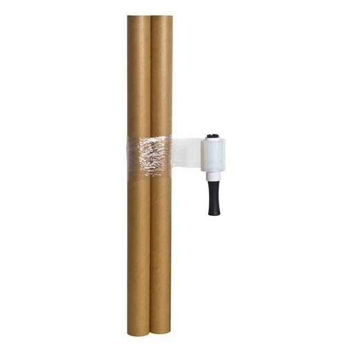 LDPE Handstretchfolie transparent 10cm x 150m / 23µ (RLL=150 METER) Produktbild Additional View 2 L