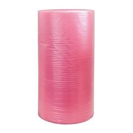 LDPE Luftpolsterfolie antistatisch rosa / 120cm x 100m / 80µ / 2-lagig (RLL=100 METER) Produktbild