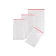 LDPE Luftpolsterbeutel transparent 350 x 450 + 50mm Klappe / 80µ / 3-lagig mit Selbstklebeverschluss (KTN=150 STÜCK) Produktbild
