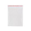 LDPE Luftpolsterbeutel transparent 250 x 300 + 50mm Klappe / 80µ / 3-lagig mit Selbstklebeverschluss (KTN=300 STÜCK) Produktbild Additional View 1 S