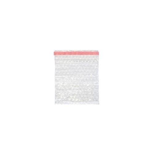 LDPE Luftpolsterbeutel transparent 150 x 150 + 50mm Klappe / 80µ / 3-lagig mit Selbstklebeverschluss (KTN=1000 STÜCK) Produktbild Additional View 1 L