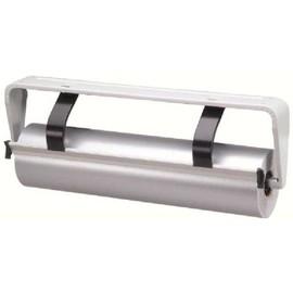 Untertischabroller für Papierrolle hellgrau / 50cm / glatte Schiene Standard 180 Produktbild