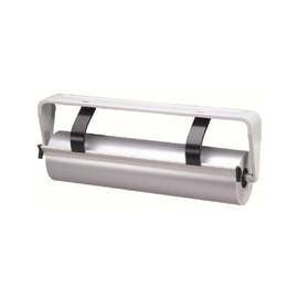 Untertischabroller für Papier- und Foleinrolle bis 75cm gezahne Schiene hellgrau Standard Produktbild