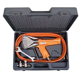 Schrumpfgerät RIPACK 2200 mit Druckregler und Hochdruckschlauch im Koffer Produktbild