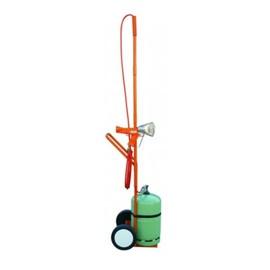 Flaschenwagen klein Nr. 936 mit Mast für 13kg Flasche RIPACK Produktbild