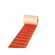 "Etikett mit Warndruck leuchtrot 150 x 50mm / ""Nicht stapelbar"" 1-farbig schwarz bedruckt (RLL=1000 STÜCK) Produktbild"