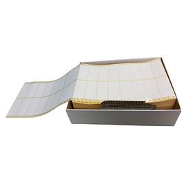 Endlosetiketten 89x36,1mm weiß 2-bahnig TAB8932 (PACK=8000 STÜCK) Produktbild