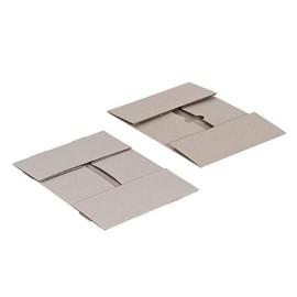Graupappe Aufrichteschachtel zweiteilig grau / DIN A4 / 305 x 215 x 100/100mm 600g/m² / FEFCO 0304 Produktbild