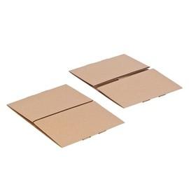 Wellpappe Aufrichteschachtel zweiteilig braun / DIN A4 / 305 x 215 x 150/150mm FEFCO 0304 Produktbild