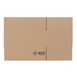 Wellpappe Faltkarton braun 400 x 250 x 150mm / 1.20C / FEFCO 0201 Produktbild Additional View 1 S