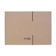 Wellpappe Faltkarton braun 470 x 320 x 220mm / 2.20BC / FEFCO 0201 Produktbild Additional View 1 S