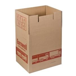 Wellpappe Umzugskarton braun 435 x 335 x 445mm / Qualität 2.30 Produktbild