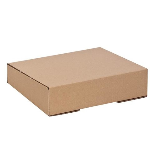 Wellpappe Versandverpackung braun für Ordner DIN A4 / 320 x 290 x 80/65mm Produktbild Additional View 1 L