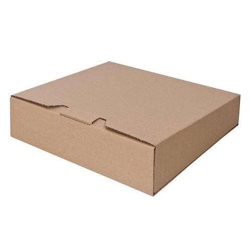 Wellpappe Versandverpackung braun für Ordner DIN A4 / 320 x 290 x 80/65mm Produktbild Additional View 2 L