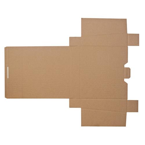 Wellpappe Versandverpackung braun für Ordner DIN A4 / 320 x 290 x 80/65mm Produktbild Additional View 4 L