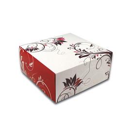Tortenkarton Konditor Line 1-teilig / 22x22x10cm klein (PACK=100 STÜCK) Produktbild
