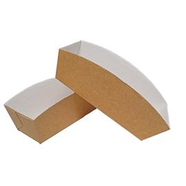 Backform eckig braun 18x6,6x7,5cm (KTN=504 STÜCK) Produktbild